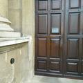 lincoln college – library – door one (2:2) – wooden library door