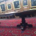 all souls college  hall  table and interior