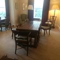 all souls college  bursars study  interior and table