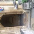 all souls college  chapel  exterior steps at entrance