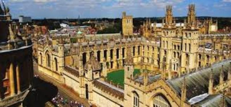 All Souls College (Aerial)