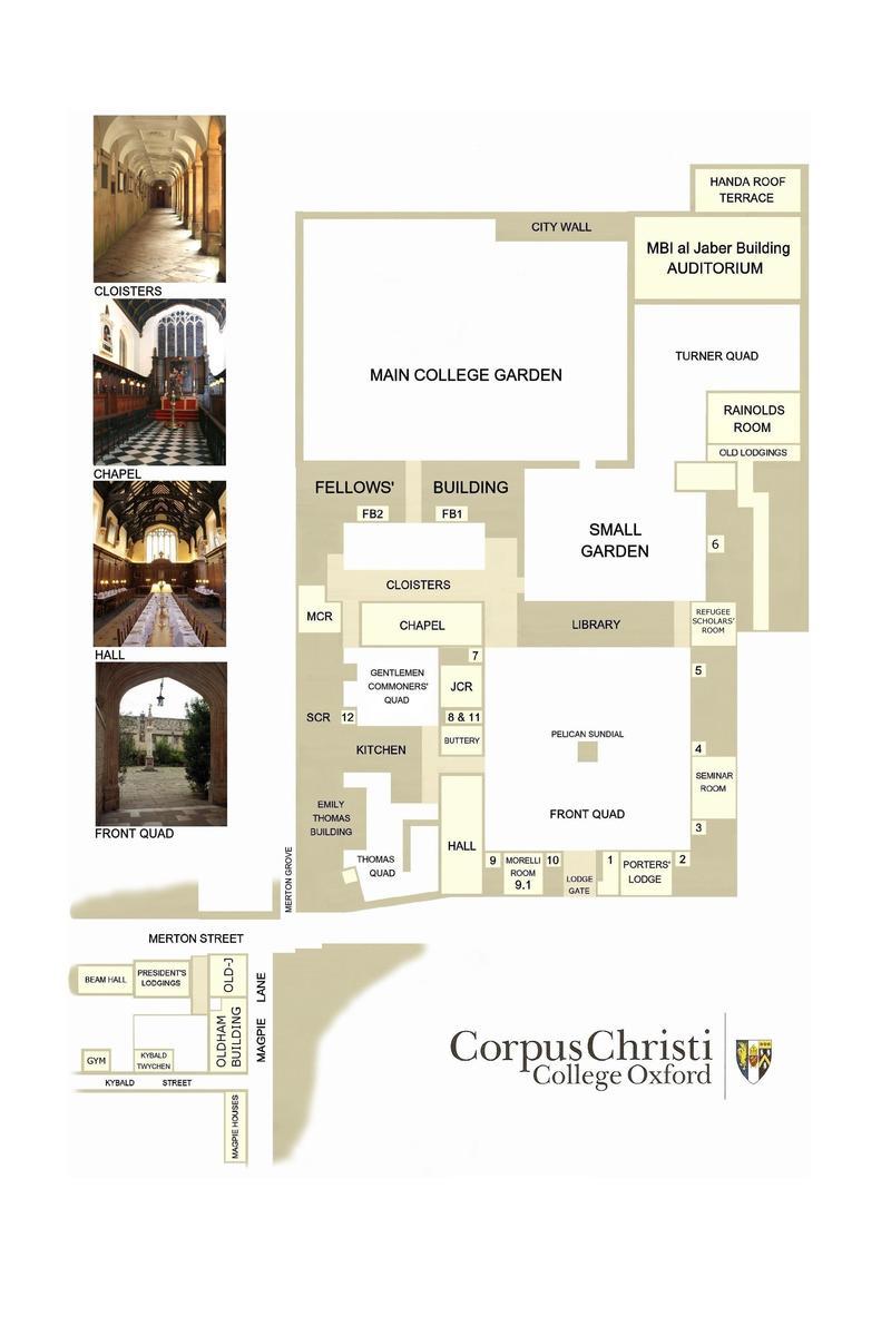 corpus map