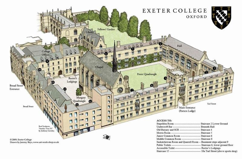 Exeter College Main Site (3D Map)