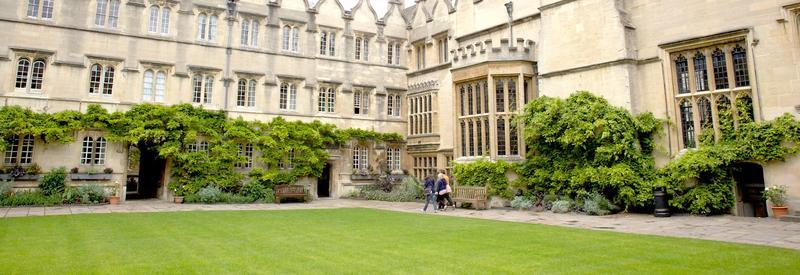 Jesus College Front Quad
