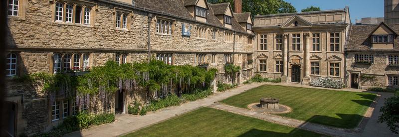 St Edmund Hall – Quad
