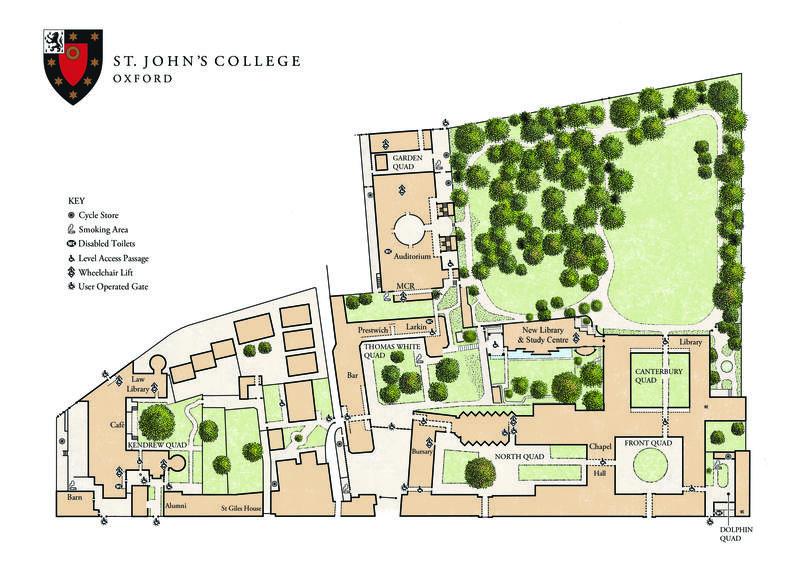 St John's College – Main Site – Floorplan
