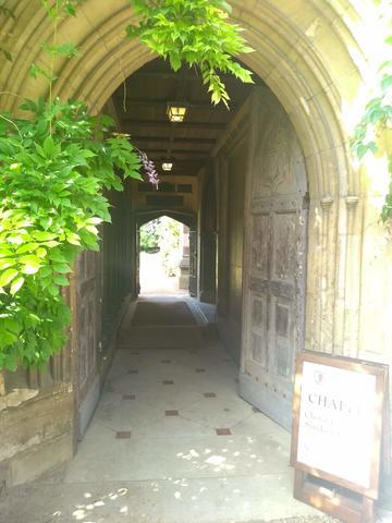 balliol college  chapel  door 1