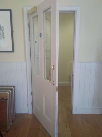 balliol college  dining hall  buttery entrance  door 3