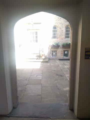 balliol college  holywell manor  door 2