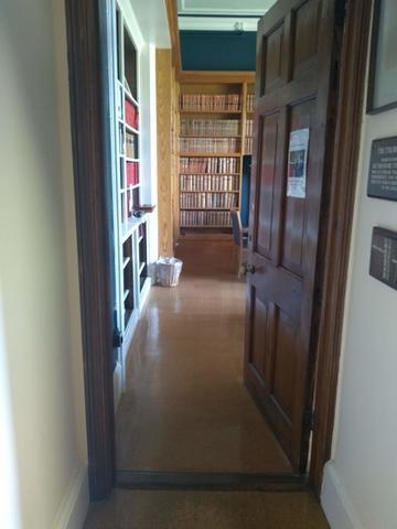 balliol college  library  door 4