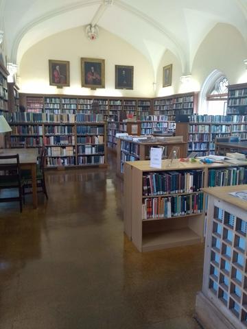 balliol college  library  interior space main reading room
