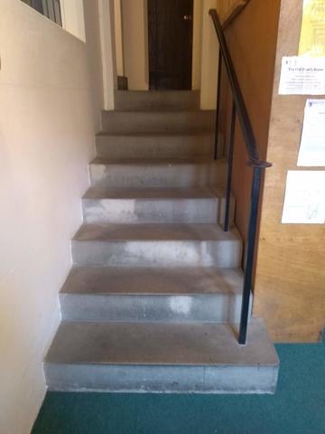 balliol college  library  internal stairs 1