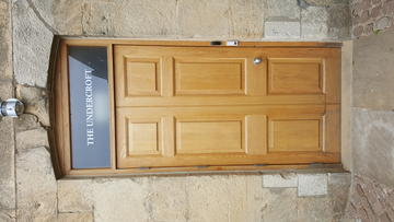 christ church  bar  wheelchair accessible door  1:1