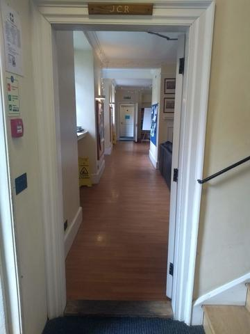 exeter college  jcr  door 1 4  staircase 5 entrance