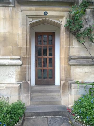 exeter college  mcr  door 1 7  staircase 8