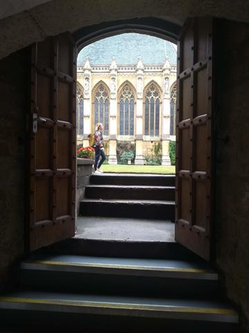 exeter college  bar  door 1