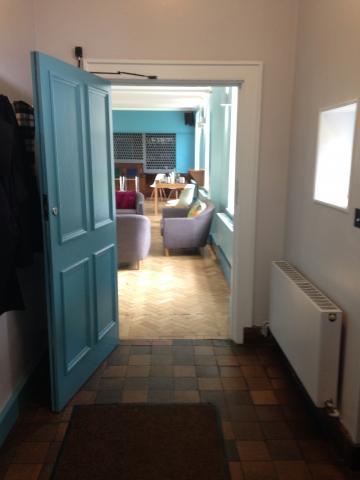 green templeton college – bar – door 2 (1:1) – view from after door 1