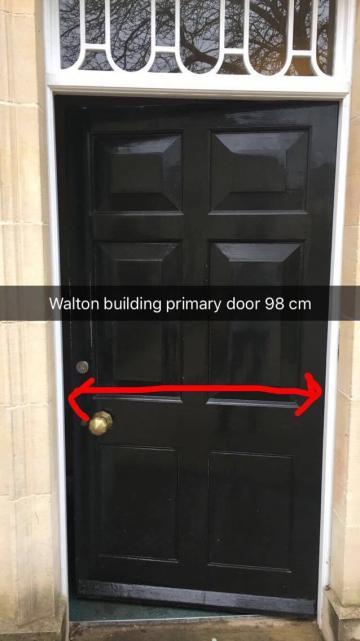 green templeton college – library – door 1 (1:1)
