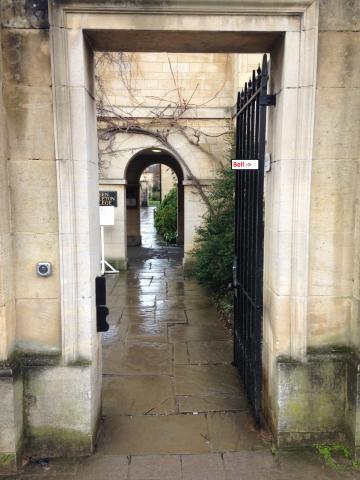 green templeton college – lodge – main gate (1:1)