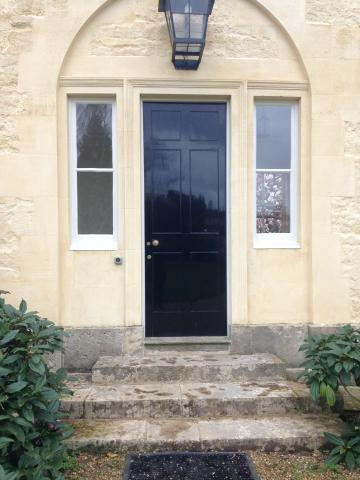 green templeton college – per saugman room – door 1 (1:1) – view from outside