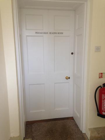green templeton college – per saugman room – door 2 (1:2) – view from outside