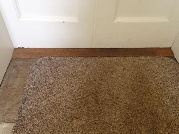 green templeton college – per saugman room – door 2 (2:2) – close up of door frame