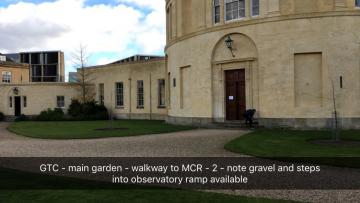 green templeton college – hall – door 1 (1:1) – gravel walkway and entrance