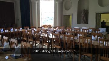 green templeton college – hall – interior space (1:4) – main dining area