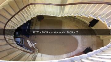 green templeton college – mcr – door (2:2) – curved stairway to mcr