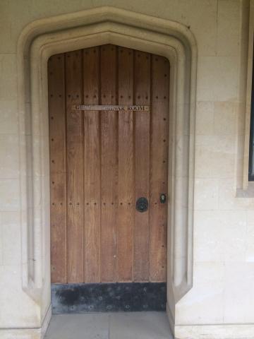 magdalen  grove seminar room  door