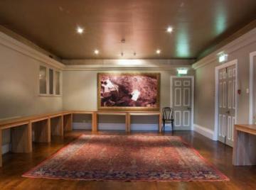magdalen  oscar wilde room  interior space