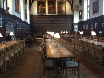 magdalen – dining hall – interior space (1:2)