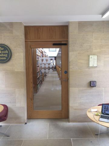 magdalen – library – interior space (1:6)