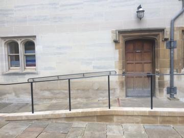 magdalen – new room and ante room – door (1:1)