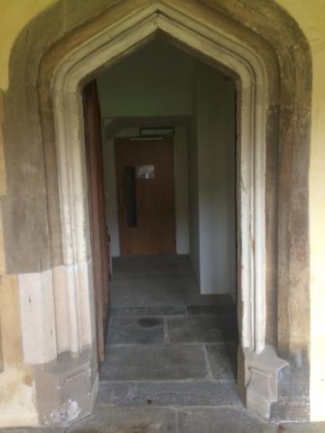 magdalen – old practise room – door one (1:1)