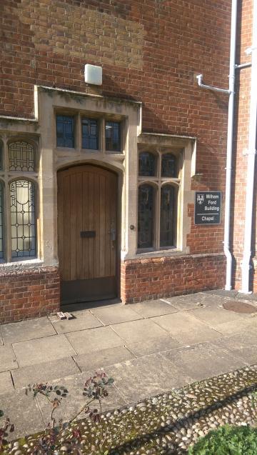 st hilda's – chapel – door one (1:2)