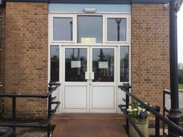 st hilda's – dining hall – door (2:3)