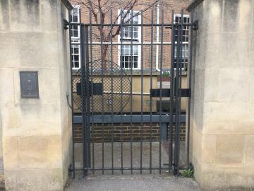 st hilda's – library – gate (2:3)