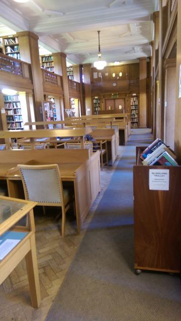 st hilda's – library – interior space (1:1)