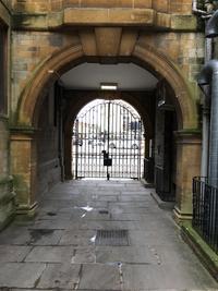 balliol college  lodge  magdalen st entrance  door 1